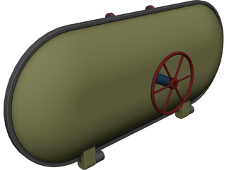 Hatch Pressure Assembly 3D Model