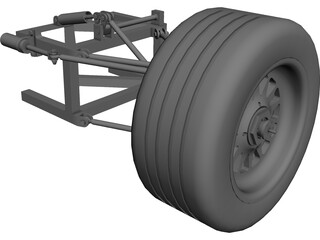 Suspension Car CAD 3D Model