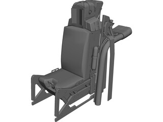 Ejection Seat 3D Model