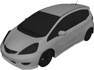 Honda Fit [Jazz] 3D Model