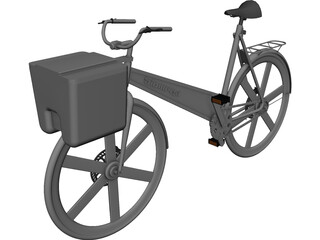 Biomega Bicycle 3D Model