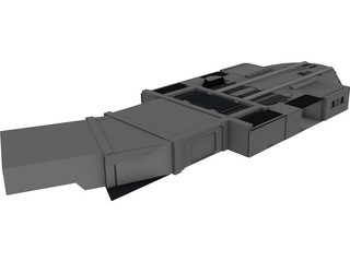 Star Wars ISD Bridge 3D Model
