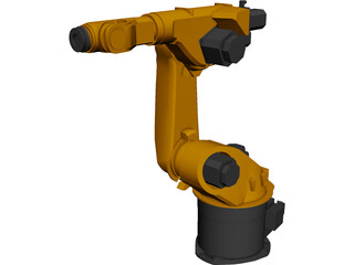 Kuka Robot KR3060HA CAD 3D Model