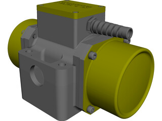 Brecon Electric Motor CAD 3D Model