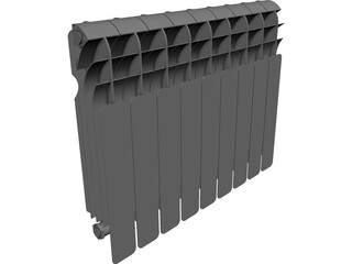 Heater Indoor 3D Model
