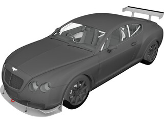 Bentley Continental (2004) 3D Model