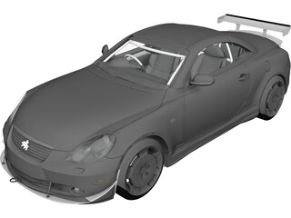 Toyota Soarer 430 (2002) 3D Model