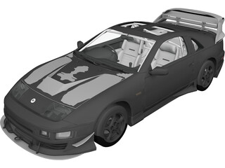 Nissan Fairlady ZvS TwinTurbo (1994) 3D Model
