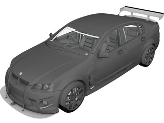 Holden HSV (2009) 3D Model