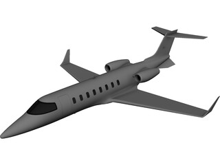 Bombardier Learjet 45 3D Model