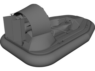 Hovercraft CAD 3D Model