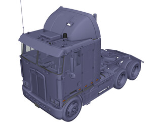 Kenworth Truck 3D Model 3D Preview