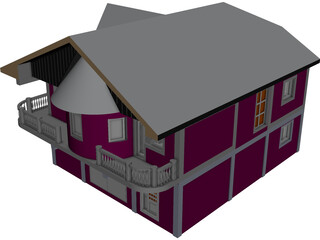House Victorian [NURBS] 3D Model