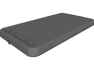 HTC HD 2 Mobile Phone CAD 3D Model