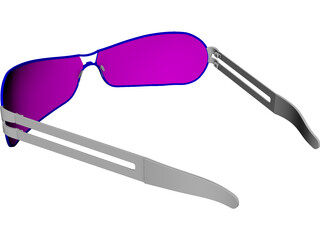 Sunglasses CAD 3D Model