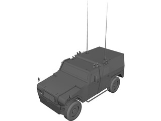MOWAG Eagle IV 3D Model