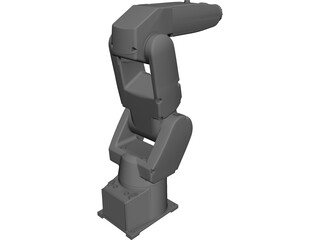 Fanuc LR Mate Robot 3D Model