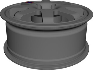 Wheel Speedline Corse CAD 3D Model