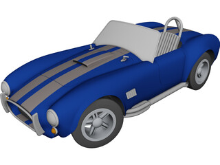 Shelby Cobra CAD 3D Model