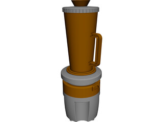 Blender Mixer CAD 3D Model