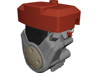 Engine Vanguard 356400 CAD 3D Model