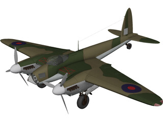 de Havilland DH.98 Mosquito 3D Model