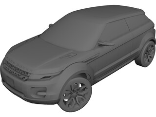 Land Rover LRX Concept 3D Model