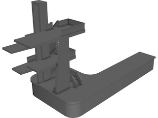 Diving Boards 3D Model