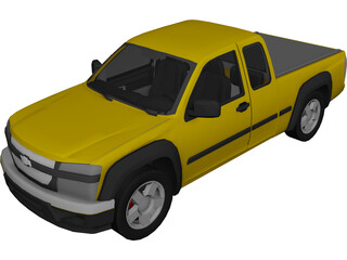 Chevrolet Colorado Pickup 3D Model