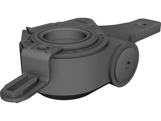 Haldex Slack Adjuster CAD 3D Model