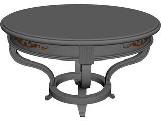 Coffee Table Arredamenti 3D Model