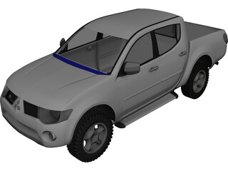 Mitsubishi Triton 3D Model 3D Preview