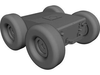AUVSI Vehicle CAD 3D Model