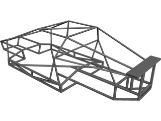 Chassis CAD 3D Model