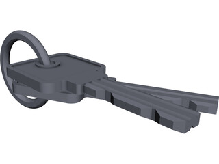 Key Sets CAD 3D Model