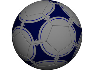 Soccer Ball Adidas (FIFA) 3D Model
