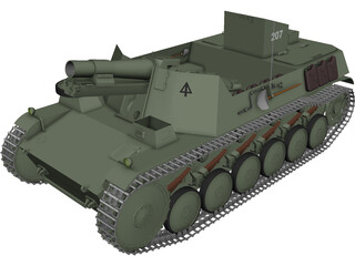 Panzer Bison 2 3D Model