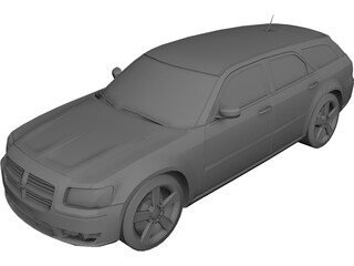 Dodge Magnum R/T 3D Model