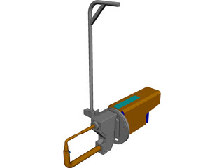Weld Gun 3D Model 3D Preview