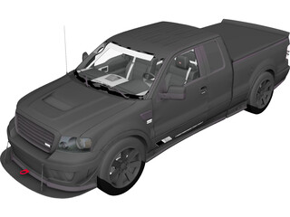 Saleen S331 Supercab (2008) 3D Model