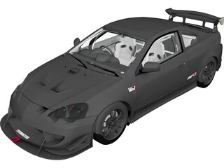 Honda Integra Mugen (2002) 3D Model