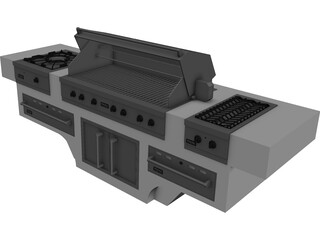 Barbacoa Viking 3D Model