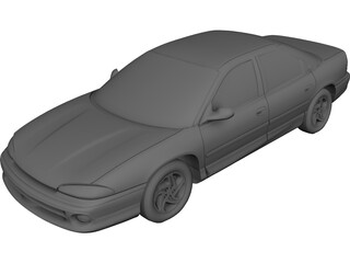 Dodge Intrepid (1993) 3D Model