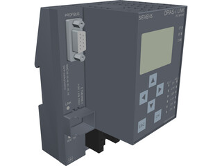 Siemens DP/AS-Interface Link CAD 3D Model