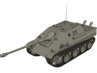 Jag Panther 3D Model 3D Preview