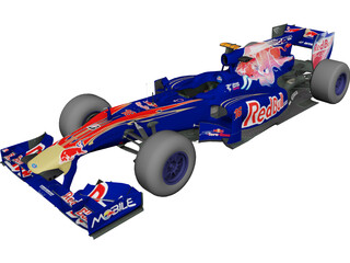 ToroRosso STR5 F1 (2010) 3D Model