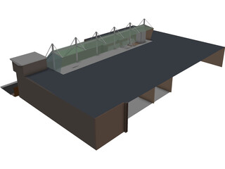 Gulfstream Center 3D Model
