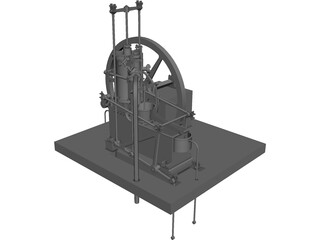 Watt Machine 3D Model