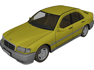 Mercedes-Benz C-class 3D Model