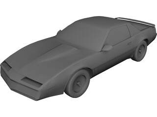 Pontiac Trans Am (1989) 3D Model